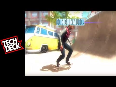 Video of Tech Deck Skateboarding @Kids