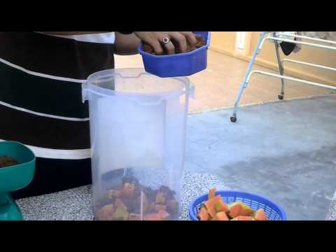 How To Make Fermented Fruit Juice (FFJ)