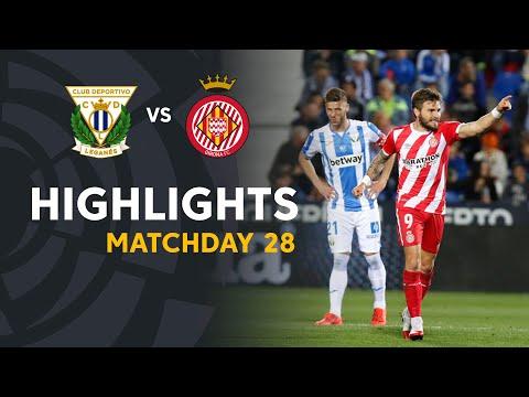Highlights CD Leganes vs Girona FC (0-2) - Thời lượng: 91 giây.