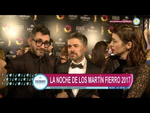 Alfombra roja Martín Fierro 2017