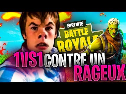 1vs1 contre un gros rageux fortnite battle royale !!!