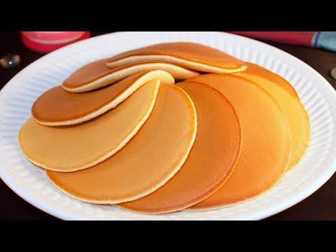 ময়দা / আটা দিয়ে পারফেক্ট প্যান কেক ( ১ টা ডিমে ১০টা কেক ) | Pancake recipe bangla | Perfect pancake
