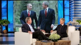 Video President George W. Bush's Thoughts on Putin and the Press MP3, 3GP, MP4, WEBM, AVI, FLV Juni 2019