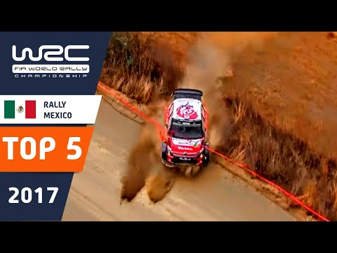 wrc rally mexico 2017 - highlights