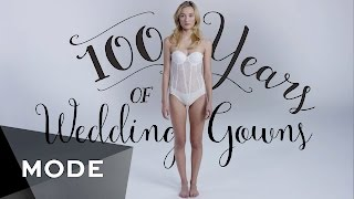 The 100 Year Evolution of the Wedding Dress