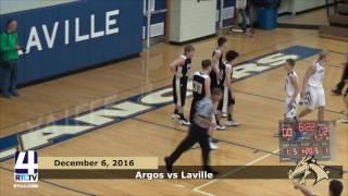 Argos Boys Basketball vs. LaVille Lancers