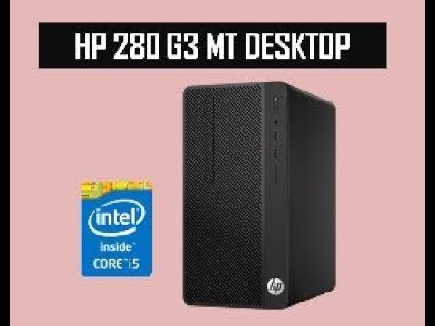 HP 280 G3 MT Desktop Unboxing and Review | i5 6th Gen CPU, 8GB Ram, 1TB Harddisk