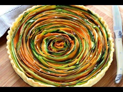 torta salata di verdure - ricetta light