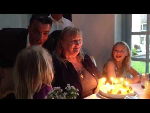 Pam's 70th Birthday, Funny, Hilarious You've Been Framed Moment