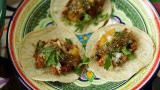 Mexikanische Tacos al Pastor