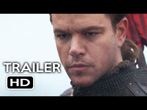 The Great Wall Official Trailer #1 (2017) Matt Damon, Willem Dafoe Action Movie HD