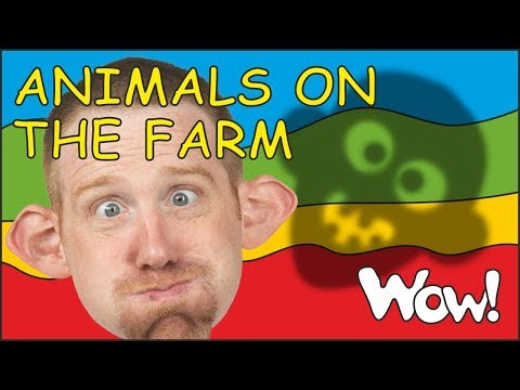 Animals on the Farm | New Stories for Kids from Steve and Maggie | Story for kids by Wow English TV