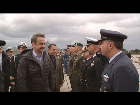 Eπίσκεψη του Πρωθυπουργού Κυριάκου Μητσοτάκη στην 115 Πτέρυγα Μάχης