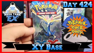 Pokemon Pack Daily XY Base Booster Opening Day 424 - Featuring Mega Tank EX by ThePokeCapital