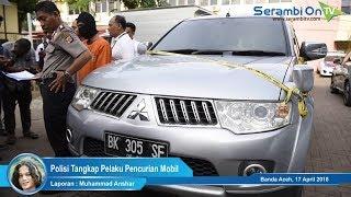 Polisi Tangkap Pelaku Pencurian Mobil