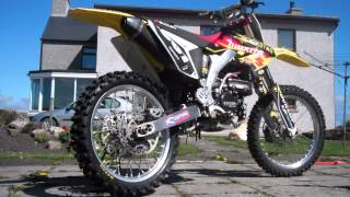 1. 2008 and 2007 Suzuki RMZ 250 Walk Round And Start Up