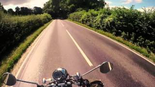 7. Summer ride on my Triumph Bonneville