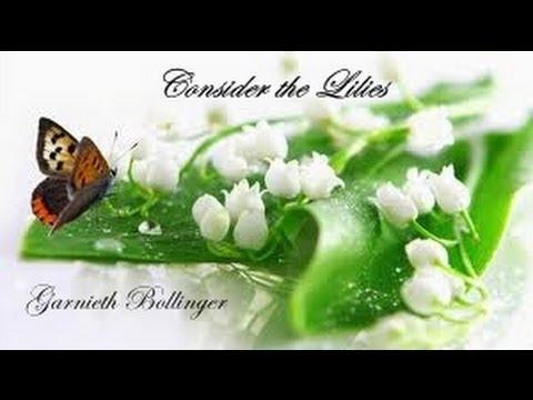 Consider the Lilies Garnieth Bollinger