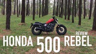 8. 2017 Honda Rebel 500 - Review