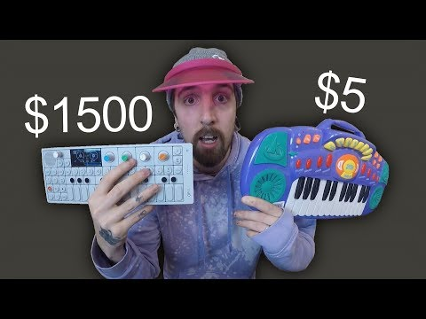 $1500 Vs $8 Synthesizer
