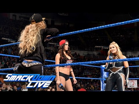 Natalya admits that she attacked Nikki Bella at Survivor Series: SmackDown LIVE, Dec. 20, 2016 (видео)