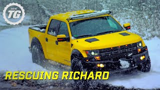 Video Rescuing Richard From Lone Wolf Mountain | Top Gear | Series 22 | BBC MP3, 3GP, MP4, WEBM, AVI, FLV Maret 2019