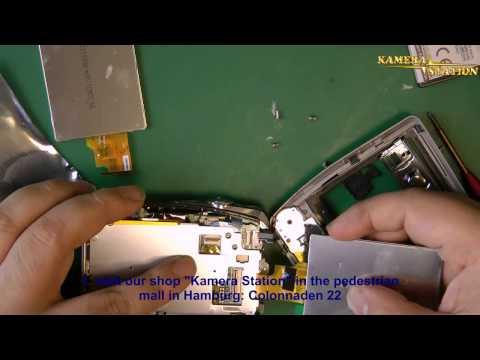 1F06 Fujifilm FinePix F50 FD Display Reparartur / RepairGuides Kamera-Station.de