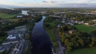 Ballina Ireland  city pictures gallery : River Moy Ballina Mayo Ireland Drone Flight.