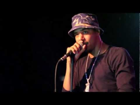 J COLE AT MIC CHECK WEDNESDAYS
