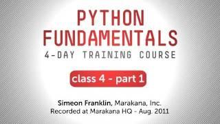 Python Fundamentals Training - Classes