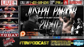 Did Joseph Parker Beat Hughie Fury? Daniel Jacobs Signs with Eddie Hearn & HBO