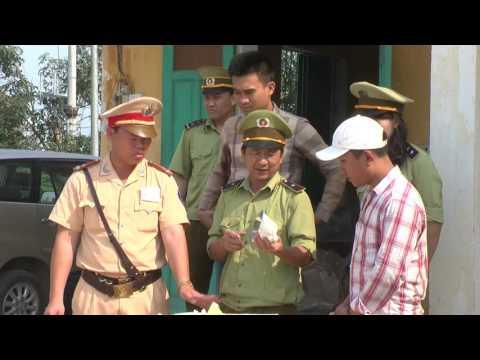 Đội QLTT số 1 Chi cục Quản lý thị trường Nghệ An bắt giữ 2 tấn chè ướp lạnh