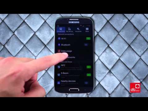 كيف تدخل إعدادات الإنترنت التابعة لألفا على هواتف Android