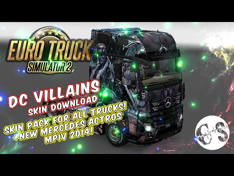 DC VIllains Skin Pack for All Trucks