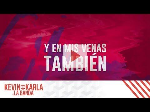 Sledgehammer (spanish version)  – Kevin Karla & La Banda (Lyric Video)