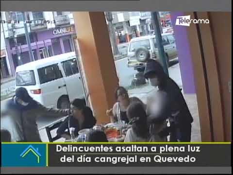 Delincuentes asaltan a plena luz del día cangrejal en Quevedo