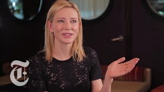 Oscars 2014   Cate Blanchett Interview   Blue Jasmine    Carpetbagger   The New York Times
