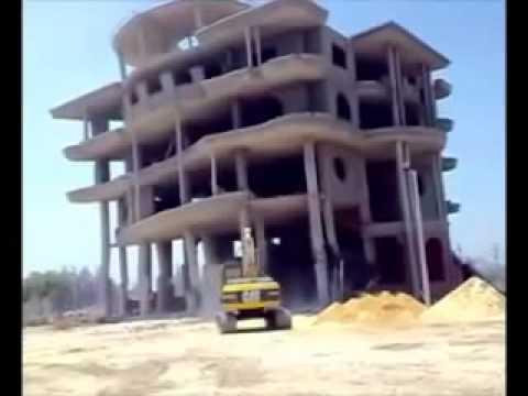 Tragic demolition FAIL