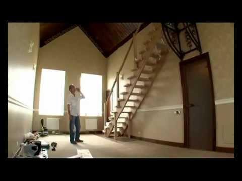 Десять ошибок при строительстве лестниц