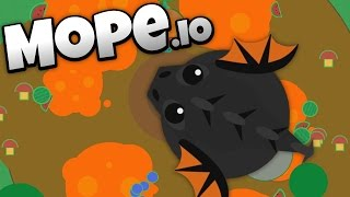Mope.io - Lava Biome and Colossal Black Dragon Update! - Let's...