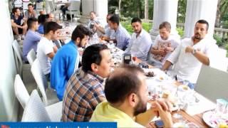 Zeytinburnu Eroğluspor Şampiyon Takımına Hidiv Kasrında Yemek Verdi