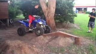8. Yamaha Raptor 350: Obstacles & Donuts