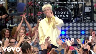 Video Troye Sivan - Bloom (Live on The Today Show) MP3, 3GP, MP4, WEBM, AVI, FLV Juni 2018