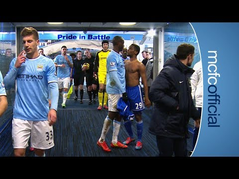 Chelsea - Exclusive footage from inside the tunnel as City hosted Jose Mourinho's Chelsea in the Barclays Premier League. Subscribe for FREE and never miss another Cit...