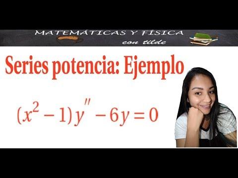 Series potencia en ecuaciones diferenciales (Ejemplo)