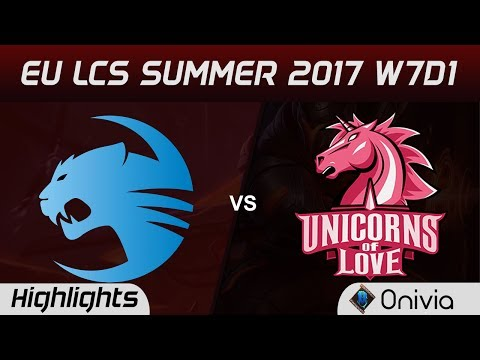 ROC vs UOL Highlights Game 2 EU LCS SUMMER 2017 Roccat vs Unicorns of Love by Onivia - Thời lượng: 4:50.