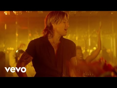 "Keith Urban ""Never Comin Down"""