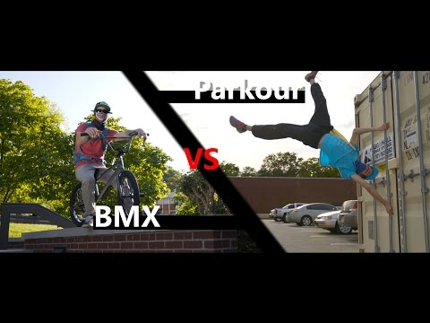 Parkour vs BMX Race! | in 4K! | with Beyond Boundaries