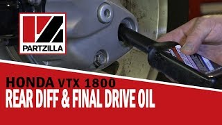 10. 2005 Honda VTX 1800 Rear Differential or Final Drive Oil Change | Partzilla.com