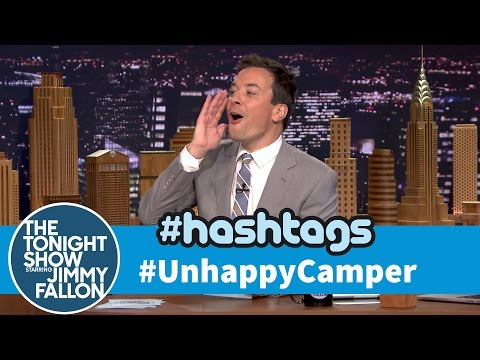 Hashtags: #UnhappyCamper